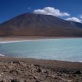 Sulphar lake in bolivia