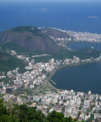 The view from the Corcovado