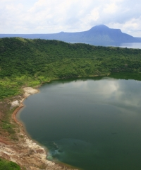 View of lake Taal